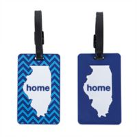 Latitude 40°N™ Illinois State Love Luggage Tags (Set of 2)
