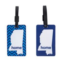 Latitude 40°N™ Mississippi State Love Luggage Tags (Set of 2)