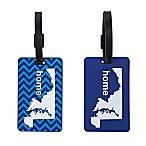 Latitude 40°N™ Maryland State Love Luggage Tags (Set of 2)