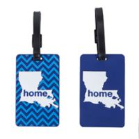 Latitude 40°N™ Louisiana State Love Luggage Tags (Set of 2)