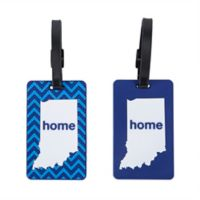 Latitude 40°N™ Indiana State Love Luggage Tags (Set of 2)
