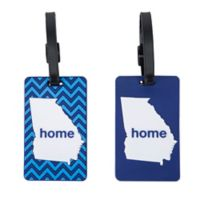 Latitude 40°N™ Georgia State Love Luggage Tags (Set of 2)