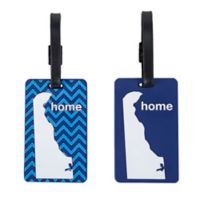Latitude 40°N™ Delaware State Love Luggage Tags (Set of 2)