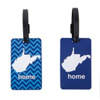 Latitude 40°N™ West Virginia State Love Luggage Tags (Set of 2)