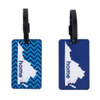 Latitude 40°N™ Virginia State Love Luggage Tags (Set of 2)