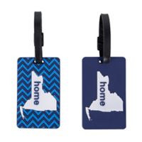 Latitude 40°N™ New York State Love Luggage Tags (Set of 2)