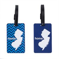 Latitude 40°N™ New Jersey State Love Luggage Tags (Set of 2)