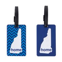 Latitude 40°N™ New Hampshire State Love Luggage Tags (Set of 2)
