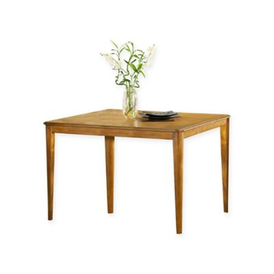 Hillsdale Bayberry 36 Inch Round Gathering Table In Oak