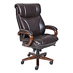 La-Z-Boy® Trafford Big & Tall Leather Executive Office Chair in Brown