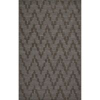 Feizy Crescent Chevron 9-Foot 6-Inch x 13-Foot 6-Inch Area Rug in Charcoal