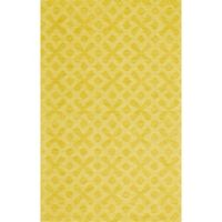 Feizy Crescent Diamonds 9-Foot 6-Inch x 13-Foot 6-Inch Area Rug in Yellow
