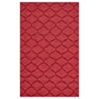 Feizy Crescent Trellis 8-Foot x 11-Foot Area Rug in Red
