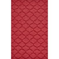 Feizy Crescent Trellis 9-Foot 6-Inch x 13-Foot 6-Inch Area Rug in Red