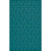 Feizy Crescent Wavy 9-Foot 6-Inch x 13-Foot 6-Inch Area Rug in Teal