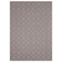 SimplyShade Lattice 7-Foot 10-Inch x 10-Foot Outdoor Rug in Charcoal