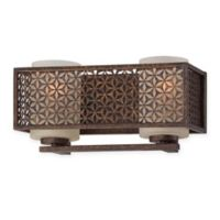 Ajourer 12.75-Inch 2-Light Indoor French Style Light