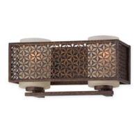 Ajourer 12.75-Inch 2-Light Indoor French Style Light