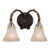 Metropolitan Home Bella Cristallo Bath Fixture in French Bronze
