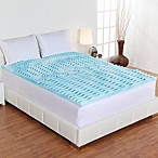 Authentic Comfort® Comfort Rx 5-Zone 3-Inch Foam Twin Mattress Topper