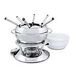 Swissmar® Zuri 11-Piece Stainless Steel Fondue Set