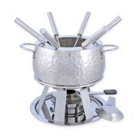Swissmar® Bienne 11-Piece Stainless Steel Fondue Set