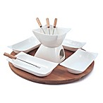 Swissmar Sensui 12-Piece Chocolate Fondue Set
