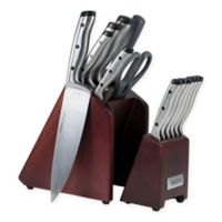 Oneida® Pro Series 14-Piece Stainless Steel Knife Block Set