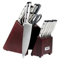 Oneida® Pro Series 18-Piece Stainless Steel Knife Block Set
