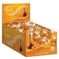 Lindt LINDOR Caramel Milk Chocolate Truffles 60-Count Box