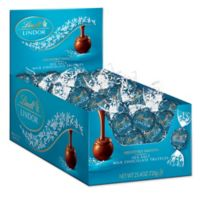 Lindt LINDOR Sea Salt Truffles 60-Count Box