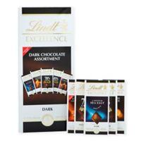 Lindt Lindor Excellence 5-Piece Dark Chocolate Assortment Gift Box