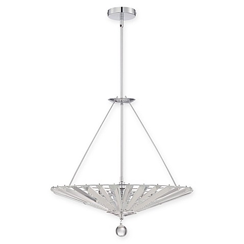 Quoizel Platinum Collection 6 Light Semi Flush Mount Superior Ceiling Lamp In Polished