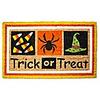 J&M Home Fashions 18-Inch x 30-Inch Trick or Treat Door Mat