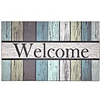 J&M Home Fashions 18-Inch x 30-Inch Painted Fence Door Mat