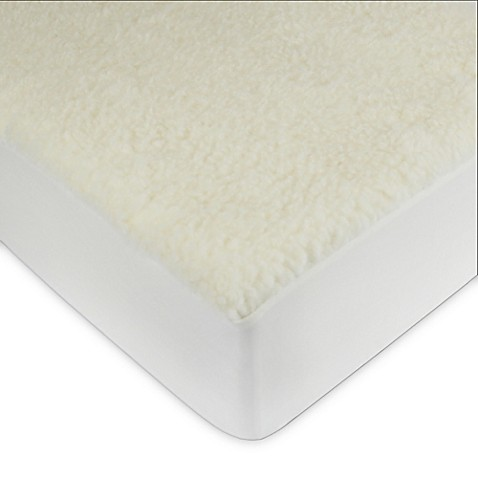 Signature Collection Wool Fleece Mattress Pad Bed Bath