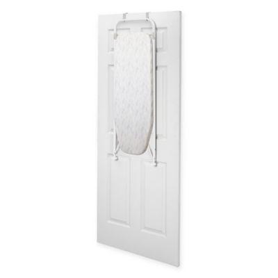 Front Facing Over The Door Ironing Board In Khaki