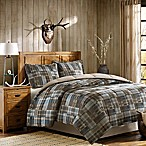Woolrich White River Full/Queen Comforter Set in Brown