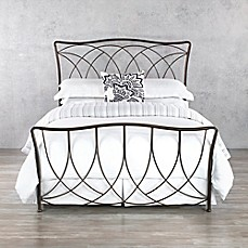 wesley allen marin iron bed frame in aged steel
