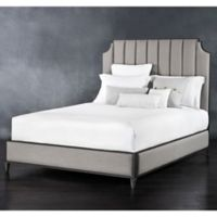 Spencer Surround Upholstered Iron King Bed