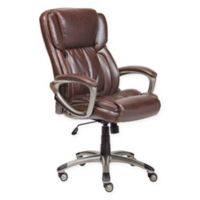 Serta® Executive Office Chair in Biscuit Brown