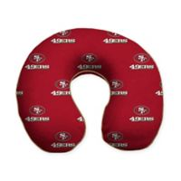 NFL San Francisco 49ers Memory Foam U-Shaped Neck Travel Pillow