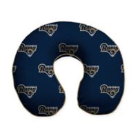 NFL Los Angeles Rams Memory Foam U-Shaped Neck Travel Pillow