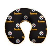 NFL Pittsburgh Steelers Memory Foam U-Shaped Neck Travel Pillow