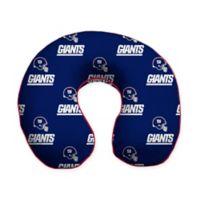 NFL New York Giants Memory Foam U-Shaped Neck Travel Pillow