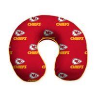 NFL Kansas City Chiefs Memory Foam U-Shaped Neck Travel Pillow