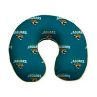 NFL Jacksonville Jaguars Memory Foam U-Shaped Neck Travel Pillow