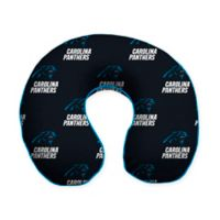 NFL Carolina Panthers Memory Foam U-Shaped Neck Travel Pillow