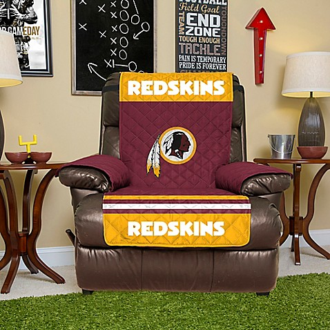 Nfl Washington Redskins Recliner Cover Bed Bath Amp Beyond
