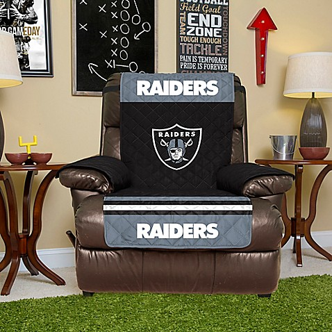 NFL Oakland Raiders Recliner Cover